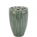 wholesale Flowerpots & Vases: Ceramic vase Vireus , holes, H22cm, D14cm, he
